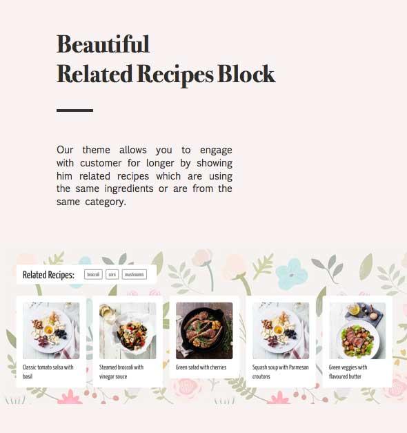 نبتون - موضوع للمدونين والطهاة وصفات الطعام - 9