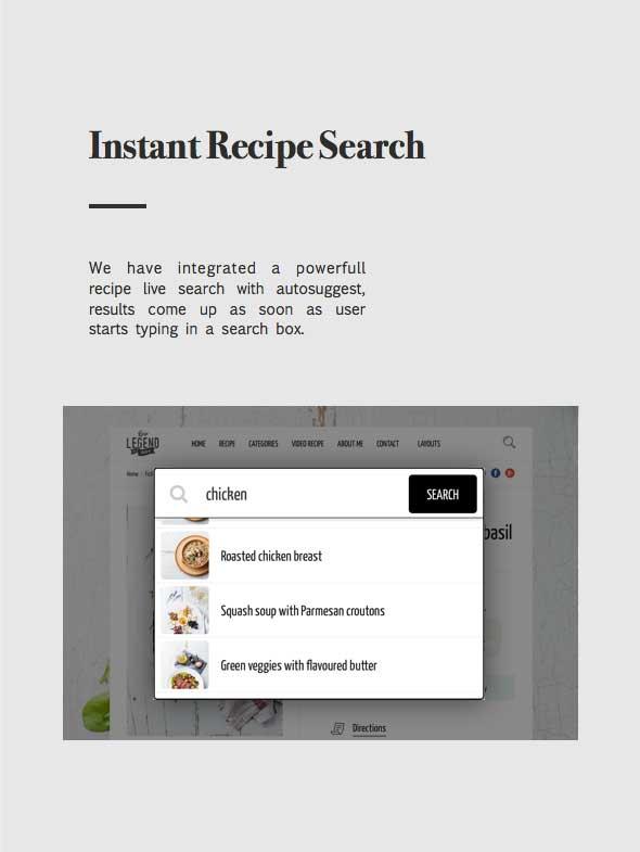 نبتون - موضوع للمدونين والطهاة وصفات الطعام - 14