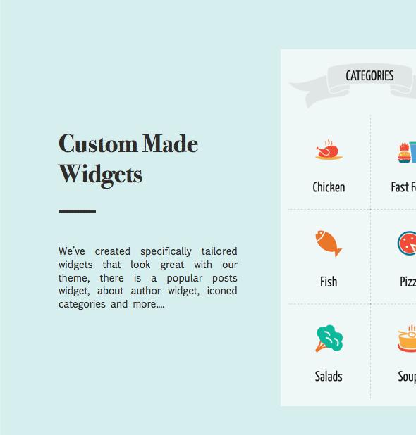 نبتون - موضوع للمدونين والطهاة وصفات الطعام - 18