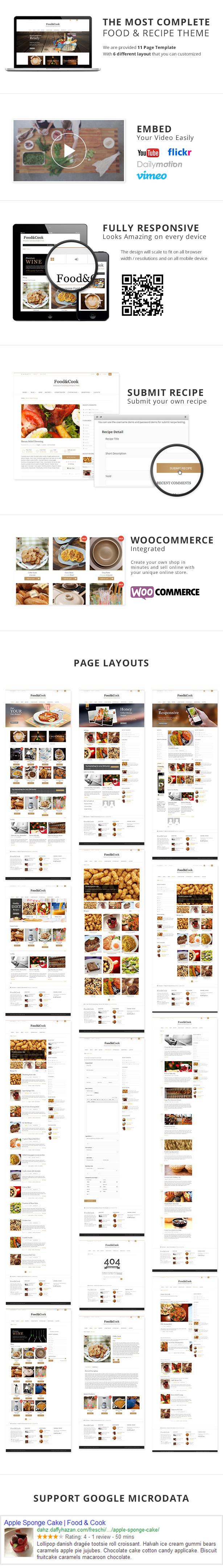 الغذاء والطهي - سمة WP لوصفة متعددة الأغراض - 3