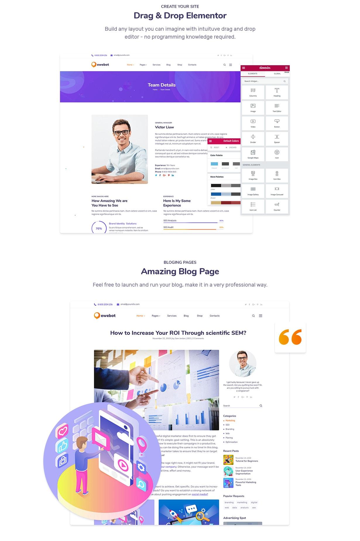 Ewebot - التسويق والوكالة الرقمية لتحسين محركات البحث - 6