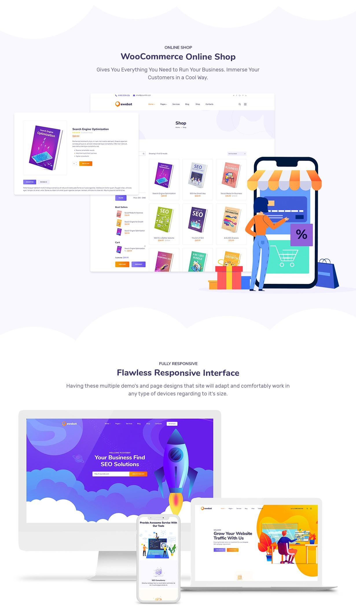 Ewebot - SEO Marketing & Digital Agency - 7