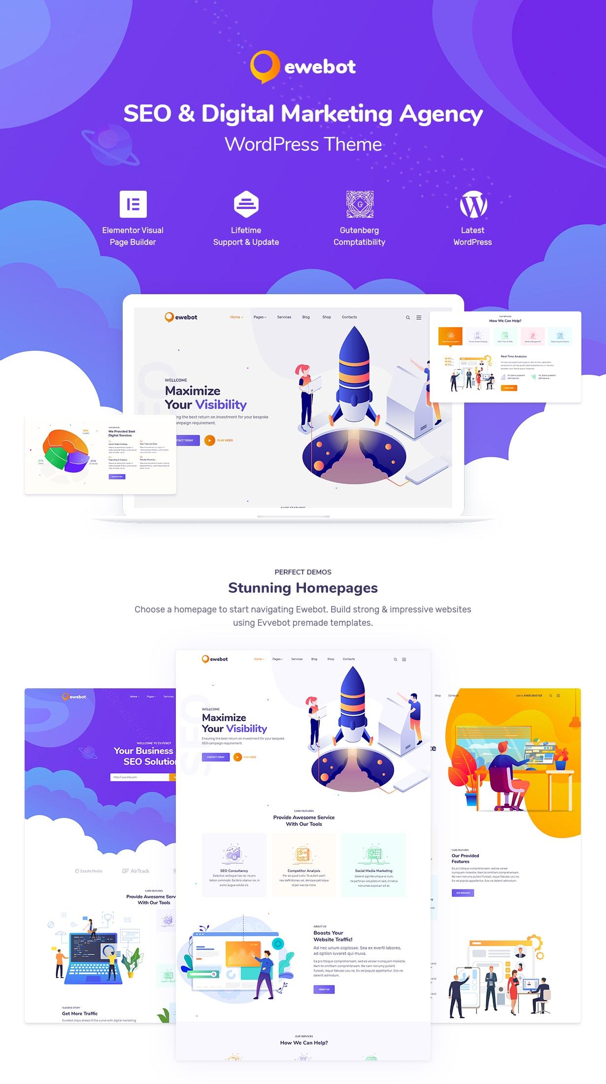 Ewebot - التسويق والوكالة الرقمية لتحسين محركات البحث - 4