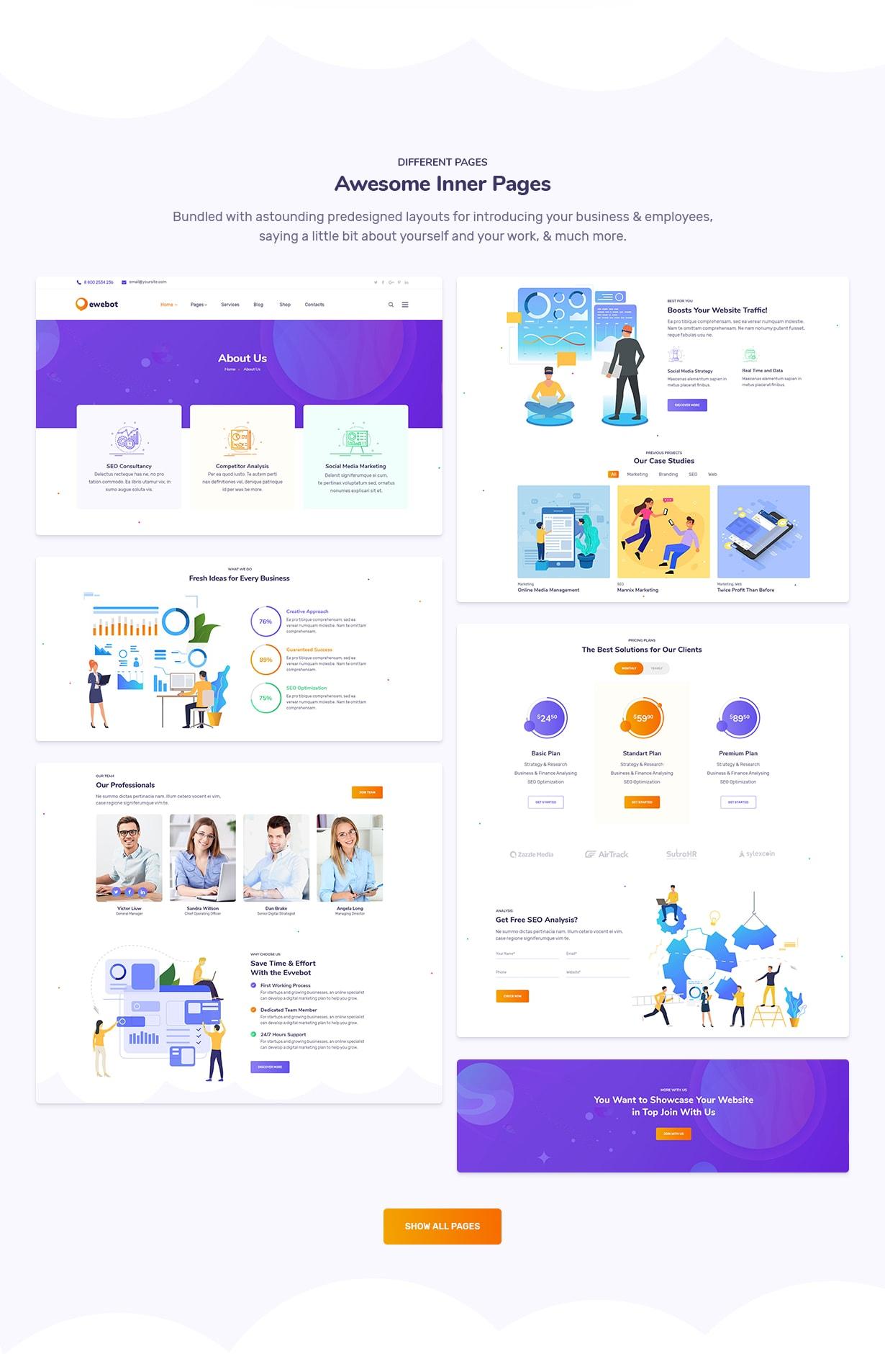 Ewebot - التسويق والوكالة الرقمية لتحسين محركات البحث - 5