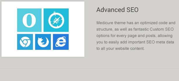 تحسين محركات البحث لـ WordPress في موضوع المستشفى