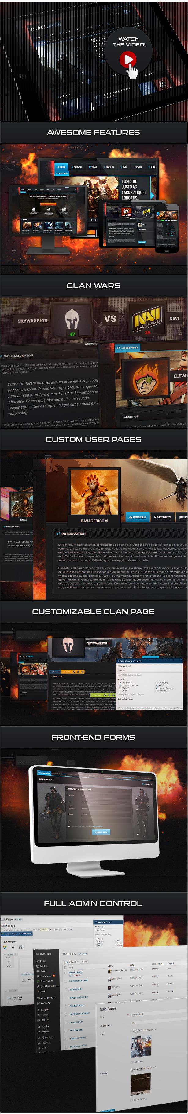 Blackfyre - أنشئ مجتمع الألعاب الخاص بك - 2