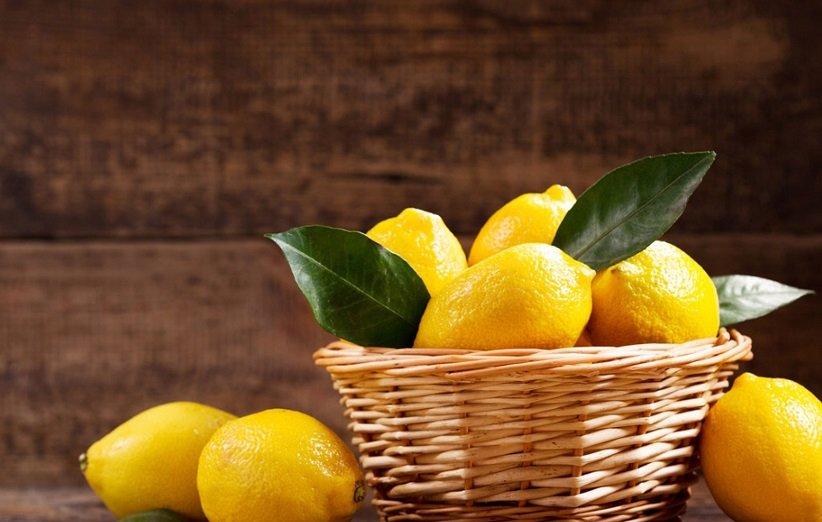فرك بعصير الليمون
