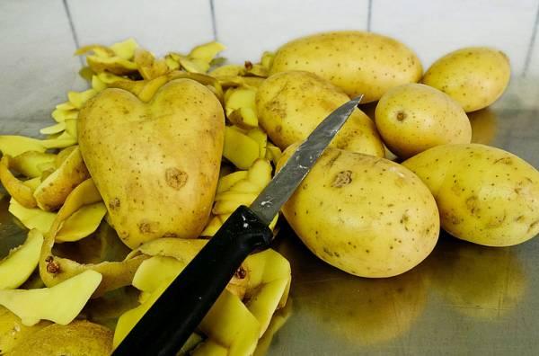 تطبيق قشر البطاطس