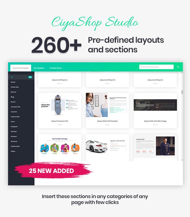 CiyaShop - موضوع WooCommerce WordPress متعدد الأغراض مستجيب - 5