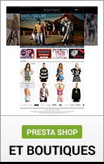 متاجر PrestaShop