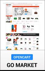 OpenCart GoMarket