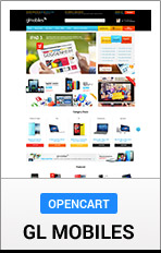 OpenCart GLMobile