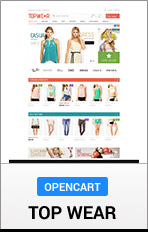 OpenCart TopWear