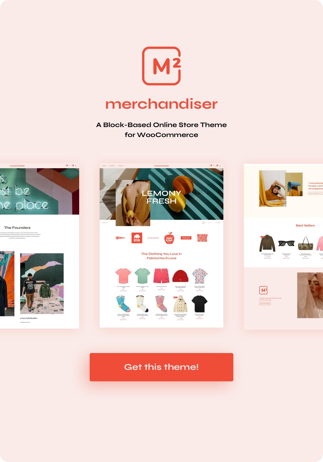 التاجر - سمة WordPress للتجارة الإلكترونية لـ WooCommerce - 1