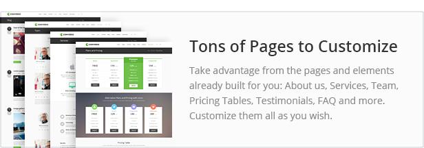 طن من الصفحات للتخصيص