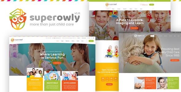 SuperOwly - موضوع وورد للأطفال