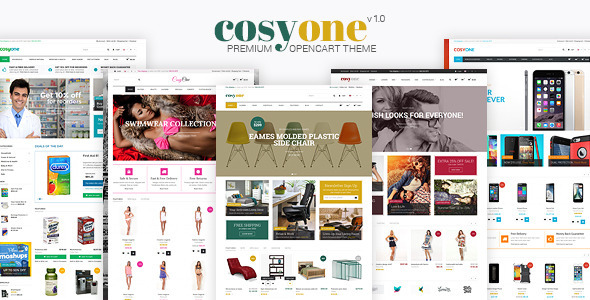 CosyOne - سمة متميزة متعددة الأغراض Opencart