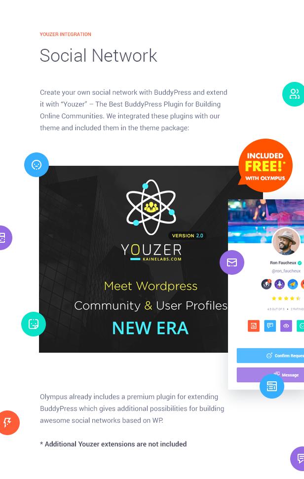 قم ببناء مجتمعك بخطوات قليلة مع التكامل مع Youzer!
