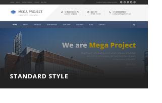 مشروع ضخم - إنشاءات WordPress - 2