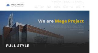 مشروع ضخم - إنشاءات WordPress - 4