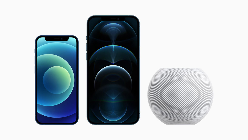 iPhone 12 و Home Pod Mini