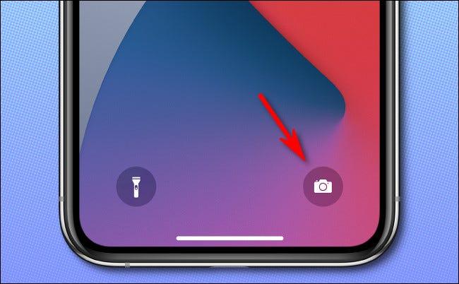 استخدم الكاميرا في وضع قفل الشاشة على أجهزة iPhone المزودة بمعرف Facebook
