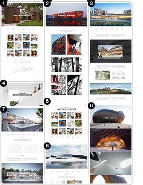 MIES - سمة WordPress للعمارة الطليعية - 4