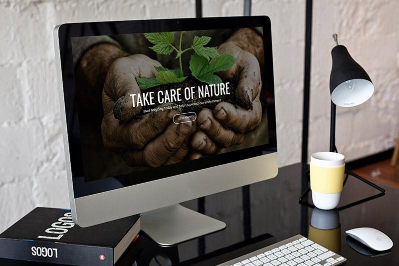 إعادة التدوير البيئي - موضوع WordPress حول البيئة والطبيعة - 5