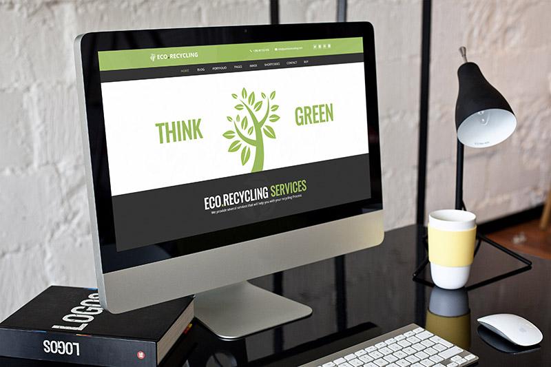 إعادة التدوير البيئي - موضوع البيئة والطبيعة WordPress - 1