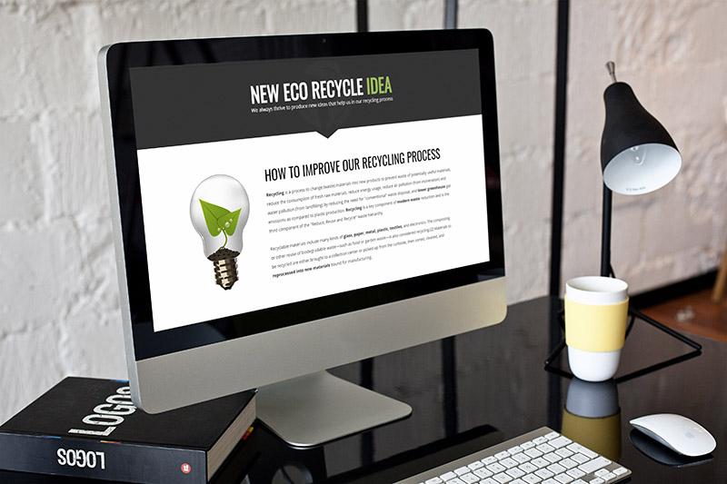 إعادة التدوير البيئي - موضوع البيئة والطبيعة WordPress - 3