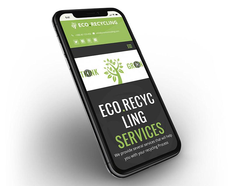 إعادة التدوير البيئي - موضوع البيئة والطبيعة WordPress - 4