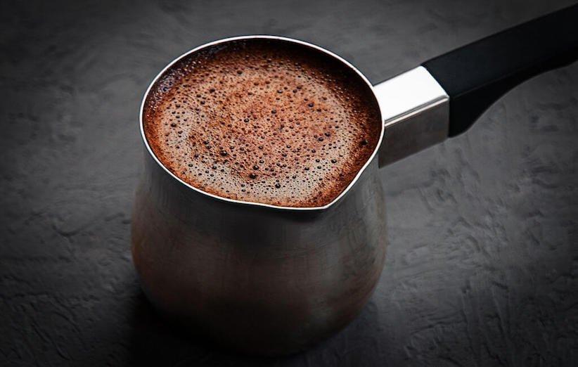 القهوة العربية - تساقط القهوة