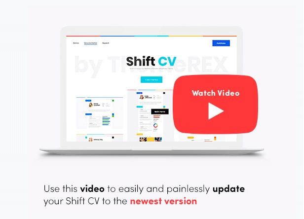 كيفية الترقية إلى ShiftCV 3.0