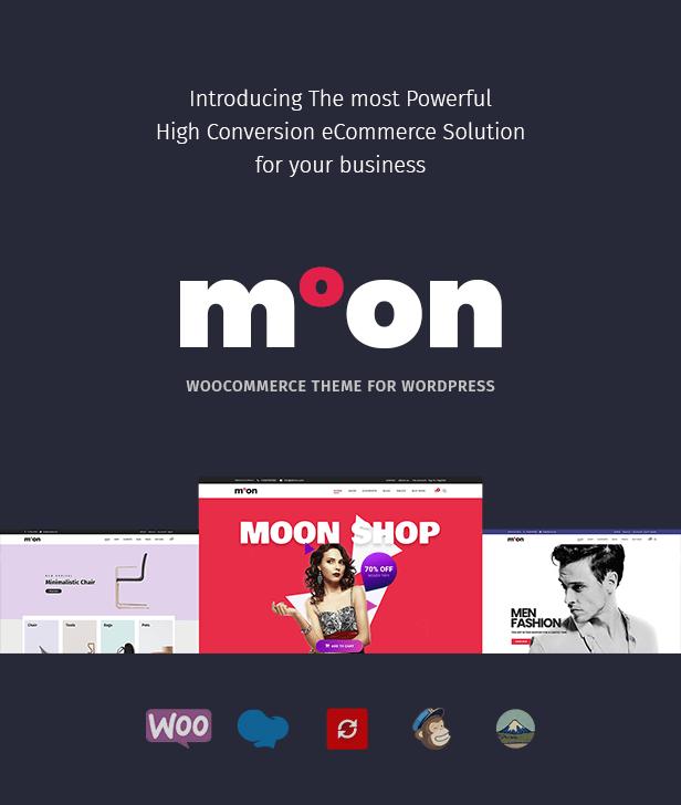 Moon Shop - سمة WordPress للتجارة الإلكترونية المستجيبة لـ WooCommerce - 3