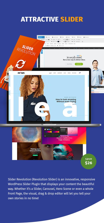 Moon Shop - سمة WordPress للتجارة الإلكترونية المستجيبة لـ WooCommerce - 8