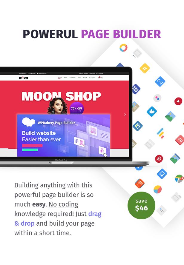 Moon Shop - سمة WordPress للتجارة الإلكترونية المتجاوبة لـ WooCommerce - 7
