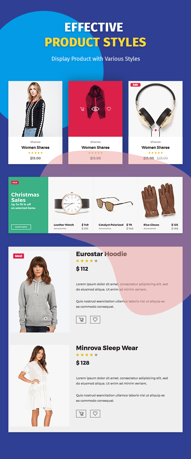 Moon Shop - سمة WordPress للتجارة الإلكترونية المستجيبة لـ WooCommerce - 10