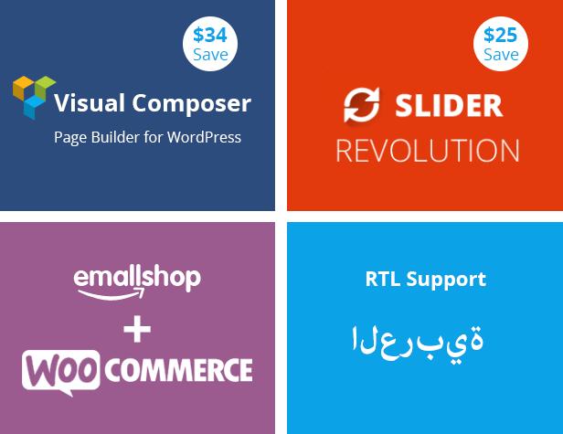 EmallShop - موضوع WooCommerce WordPress سريع الاستجابة 5