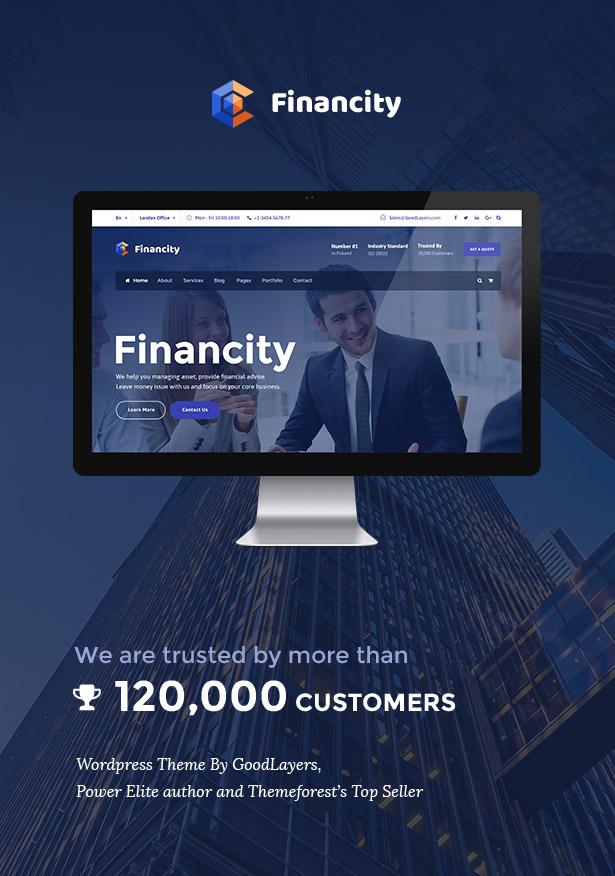 المالية - الأعمال / المالية / المالية WordPress - 1
