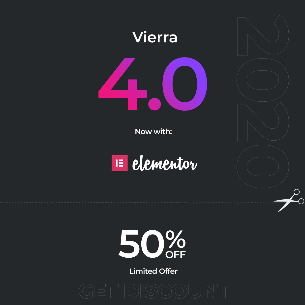 Vierra - Elementor Hotel، Resort، Inn & Booking WordPress Theme - 1