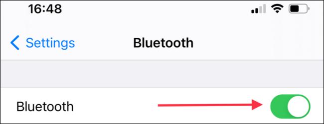 أدخل قسم الإعدادات في iPhone و iPad