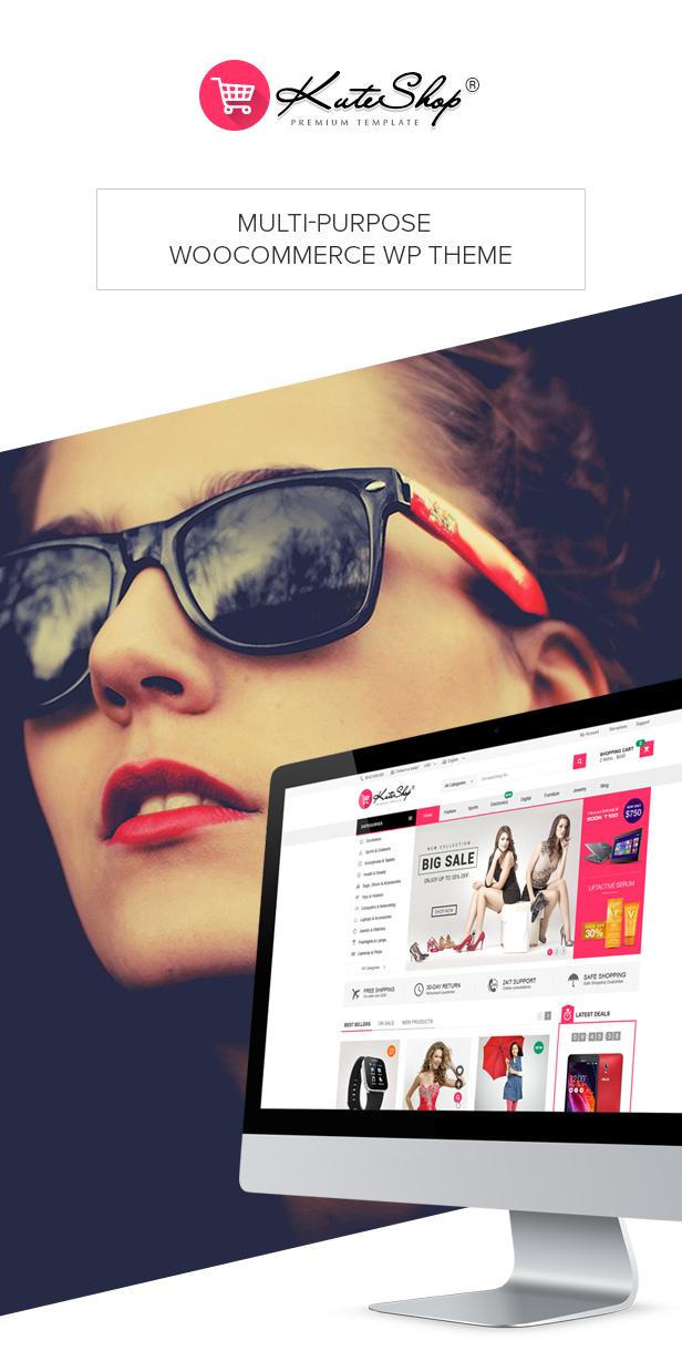 KuteShop - موضوع WooCommerce للموضة والإلكترونيات والسوق (يدعم RTL) - 8