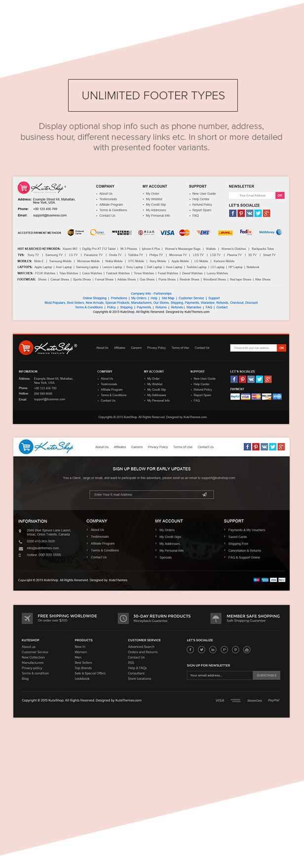 KuteShop - سمة WooCommerce للموضة والإلكترونيات والسوق (تدعم RTL) - 15
