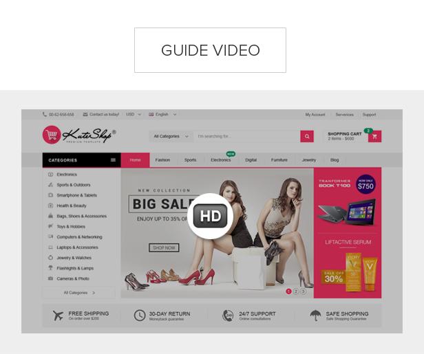 KuteShop - سمة WooCommerce للموضة والإلكترونيات والسوق (تدعم RTL) - 16