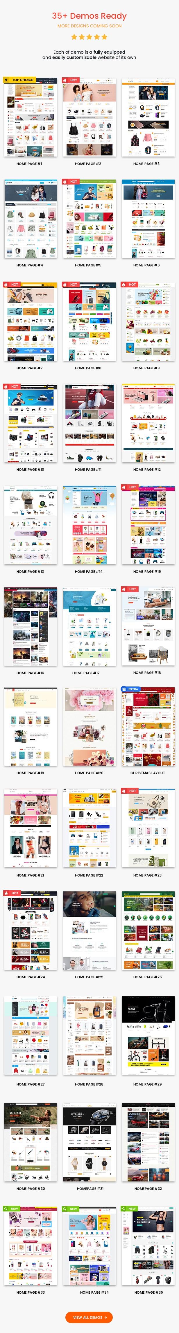 eMarket - موضوع MarketPlace متعدد البائعين وورد - سمة WooCommerce