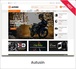 Autusin - متجر قطع غيار السيارات وإكسسوارات السيارات WordPress WooCommerce Theme