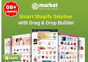 eMarket - موضوع MarketPlace متعدد البائعين أو سمة WordPress (أكثر من 35 صفحة رئيسية و 3 تخطيطات للجوال) - 6