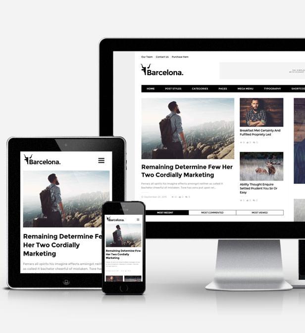 برشلونة.  - موضوع ووردبريس للأخبار والمجلات النظيفة - 3