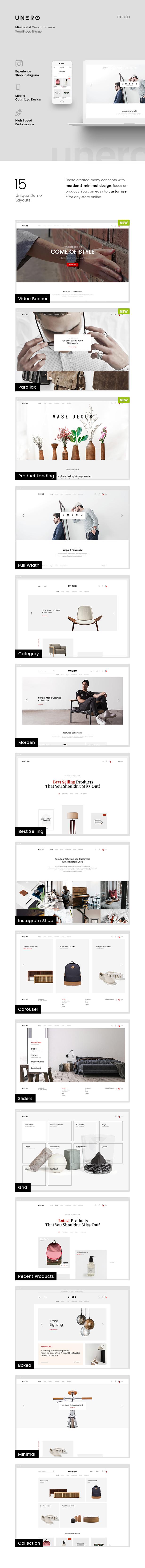Unero - موضوع AJAX WooCommerce WordPress البسيط - 9