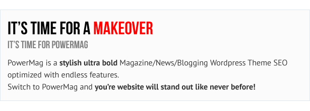 PowerMag: مجلة Bold ومراجعات WordPress Theme - 4